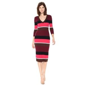 Trina Turk | Grand Ave merino wool sweaterdress